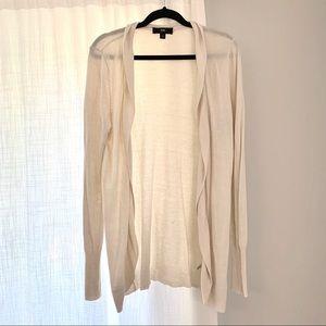 Mossimo Target Cream Open Knit Sweater Cardigan